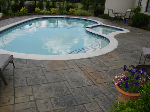 Cole Concrete Maryland Stamped Concrete Our Work