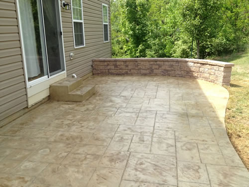 Stamped Concrete Patios Cole Concrete Maryland